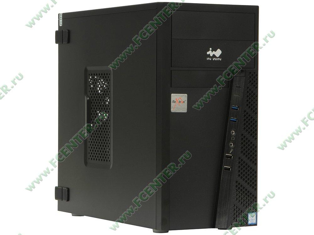 "Компьютер FLEXTRON ""Integro""  (901991). Вид спереди."