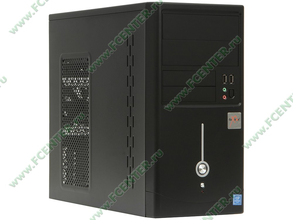 "Компьютер FLEXTRON ""Optima Pro""  (903831). Вид спереди."