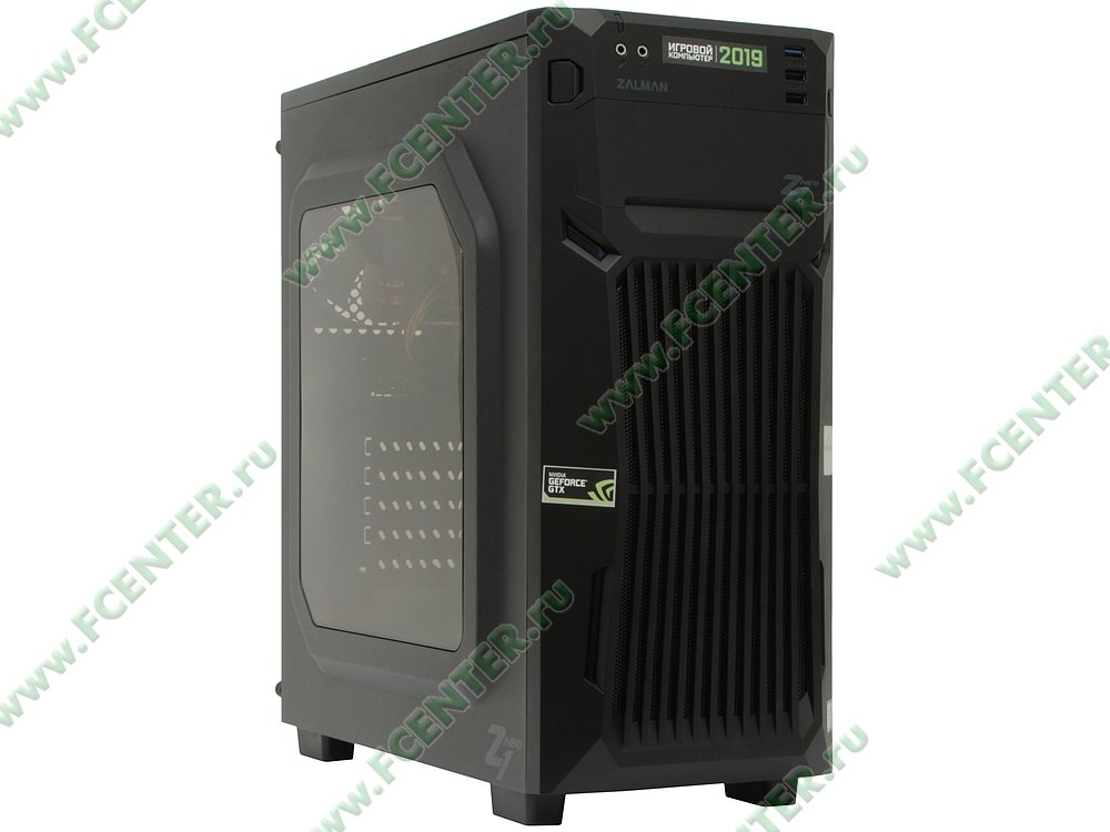 "Компьютер FLEXTRON ""Energo""  (904791). Вид спереди."