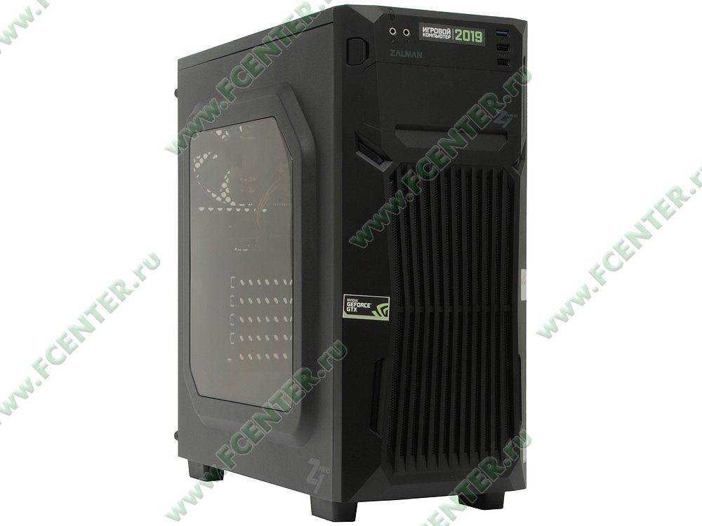 "Компьютер FLEXTRON ""Energo""  (904911). Вид спереди."