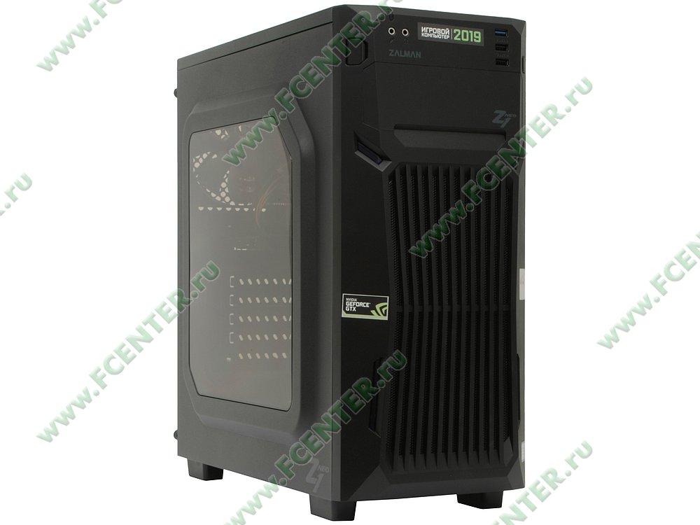 "Компьютер FLEXTRON ""Energo""  (905571). Вид спереди."