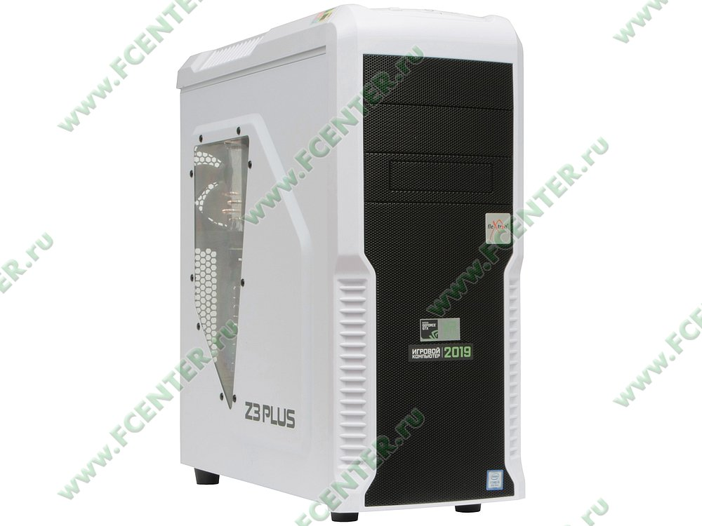 "Компьютер FLEXTRON ""Quattro""  (905581). Вид спереди."