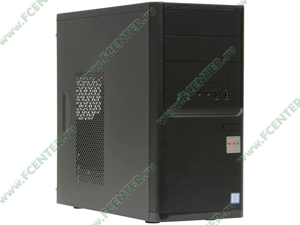 "Компьютер FLEXTRON ""Integro S""  (906891). Вид спереди."