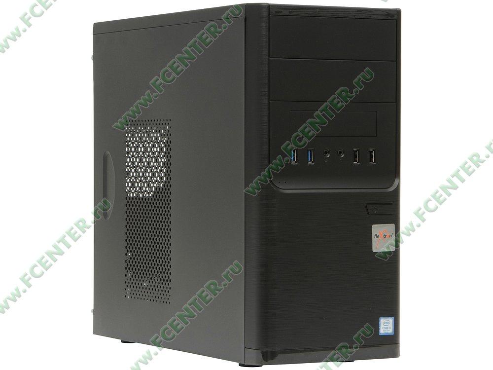 "Компьютер FLEXTRON ""Integro S""  (907211). Вид спереди."