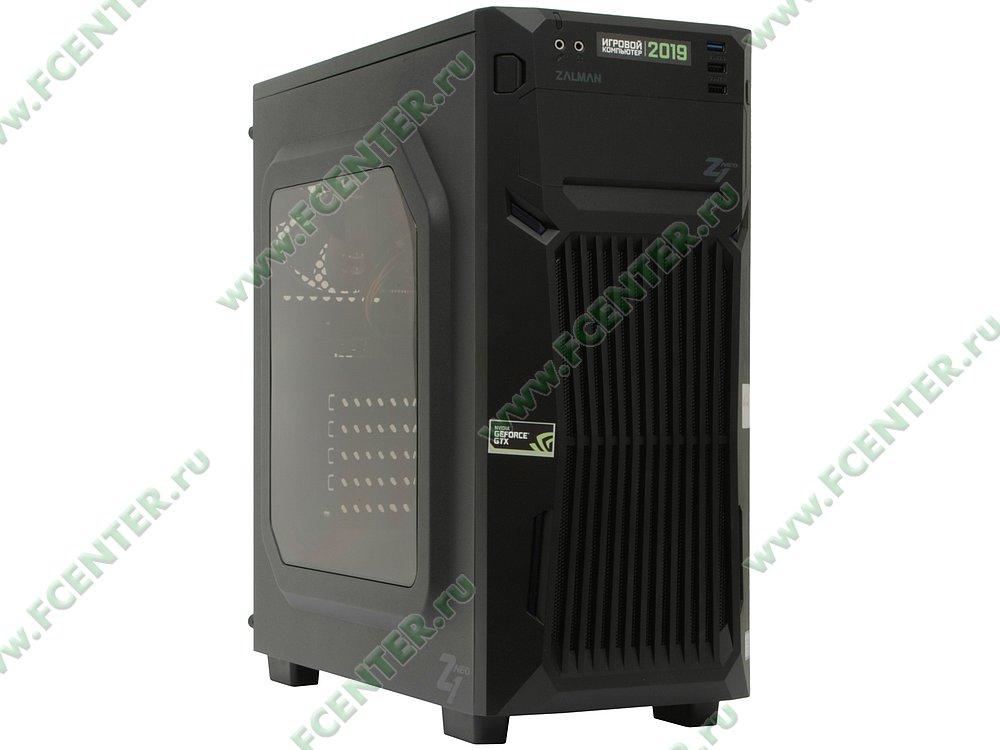 "Компьютер FLEXTRON ""Energo""  (907231). Вид спереди."