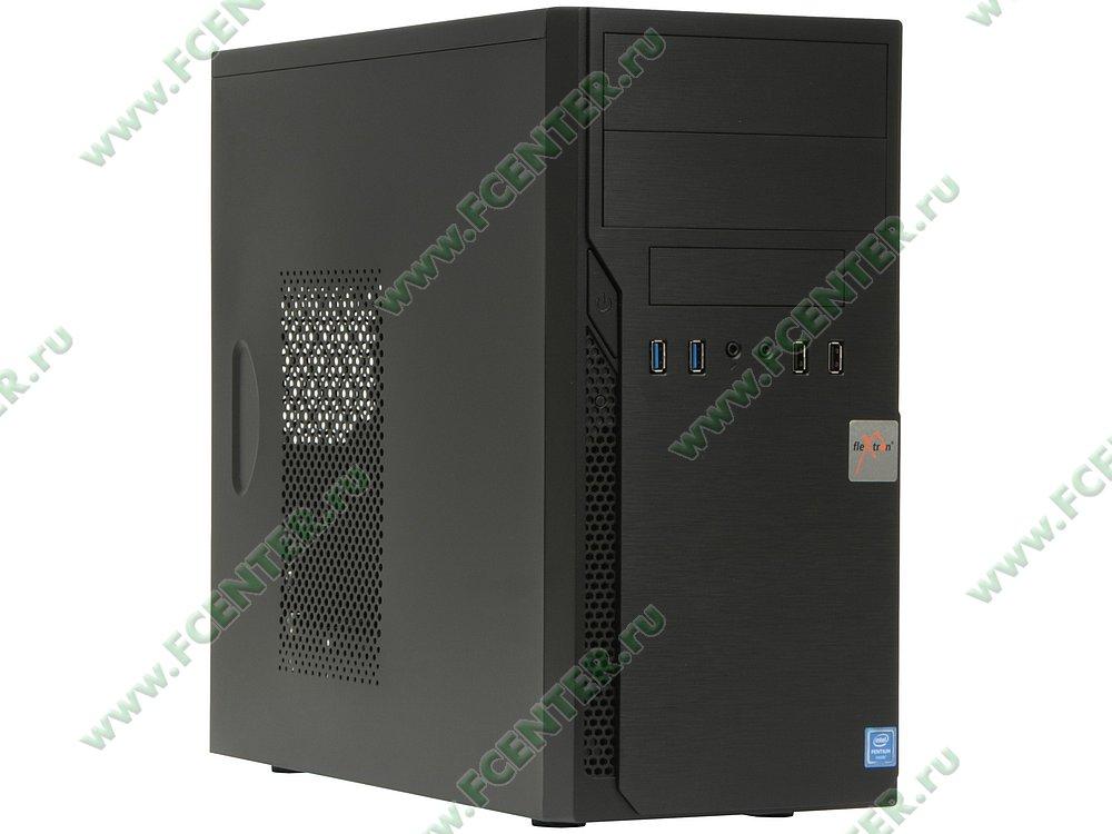 "Компьютер FLEXTRON ""Focus S""  (907251). Вид спереди."