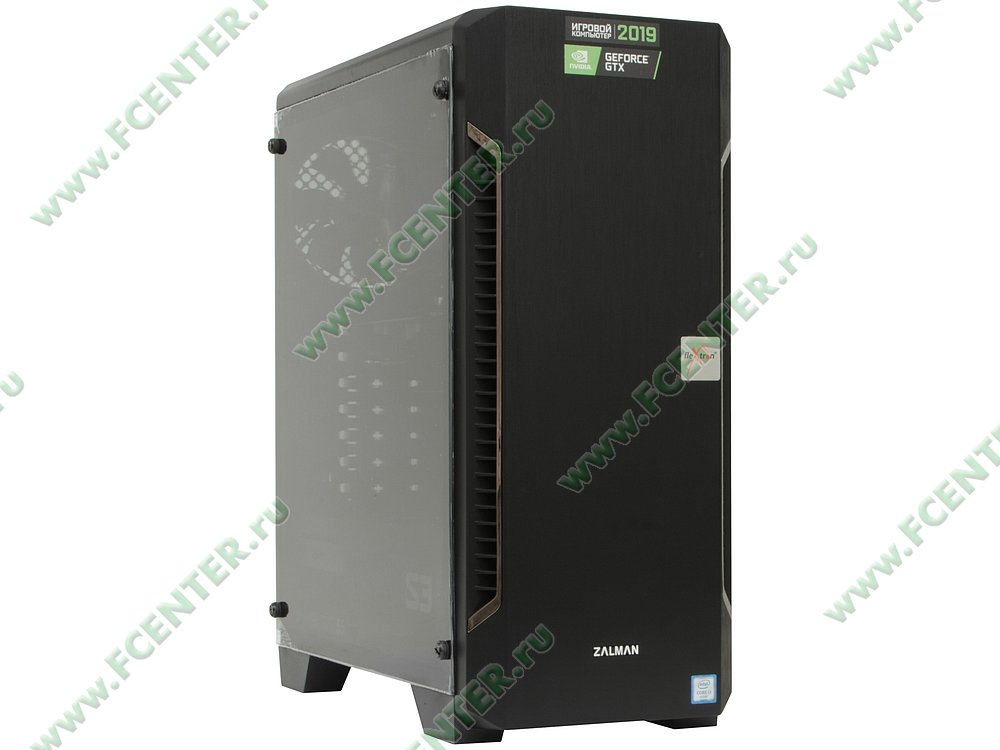 "Компьютер FLEXTRON ""Energo""  (907371). Вид спереди."