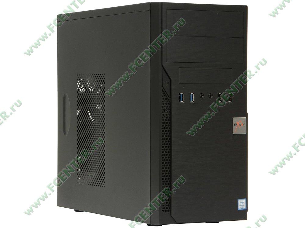 "Компьютер FLEXTRON ""Integro S""  (907621). Вид спереди."