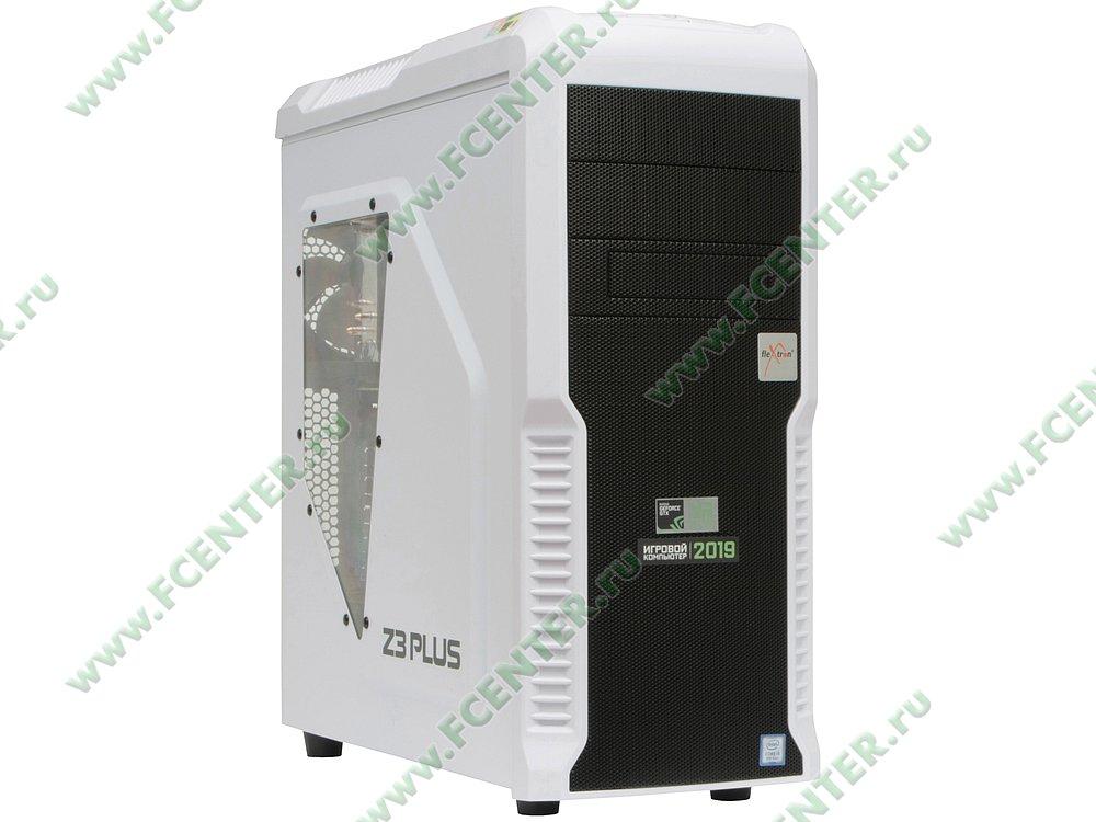 "Компьютер FLEXTRON ""Quattro""  (908321). Вид спереди."