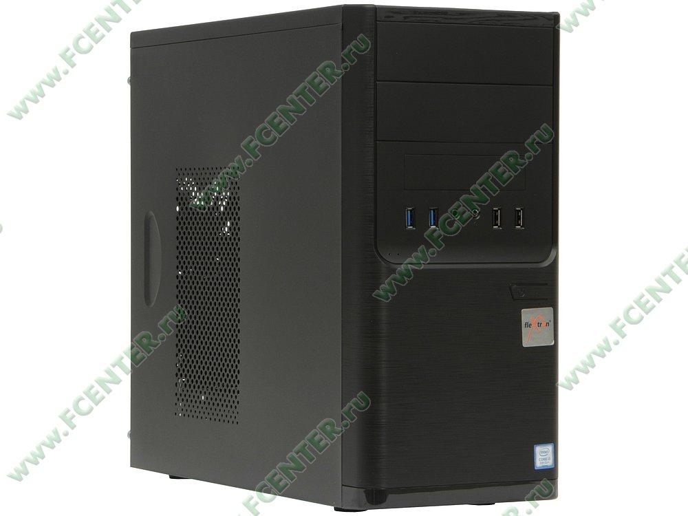 "Компьютер FLEXTRON ""Integro Pro""  (909421). Вид спереди."