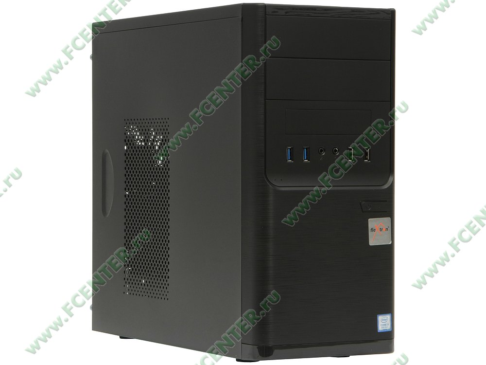 "Компьютер FLEXTRON ""Integro Pro""  (909721). Вид спереди."