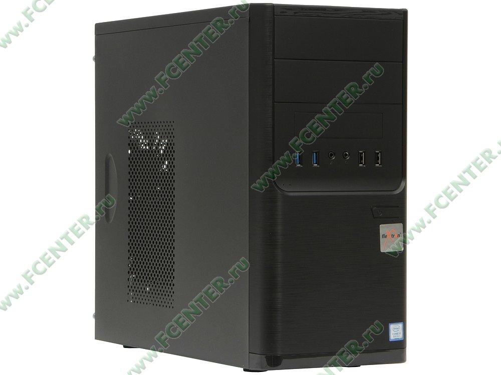 "Компьютер FLEXTRON ""Integro Pro""  (910211). Вид спереди."