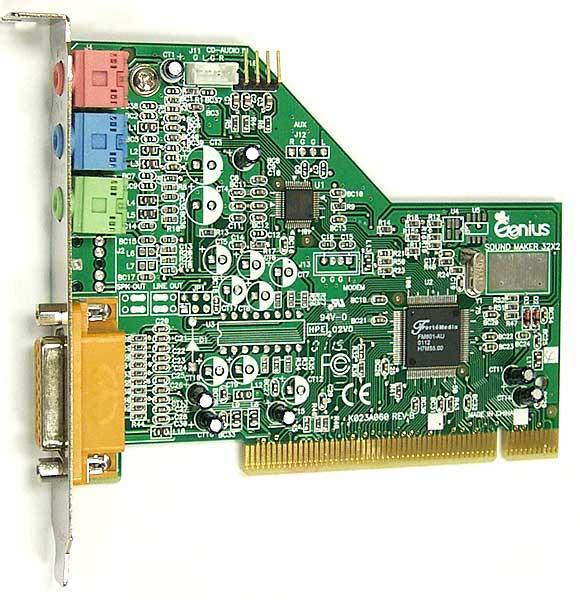 ForteMedia FM801 PCI Audio Free Driver Download