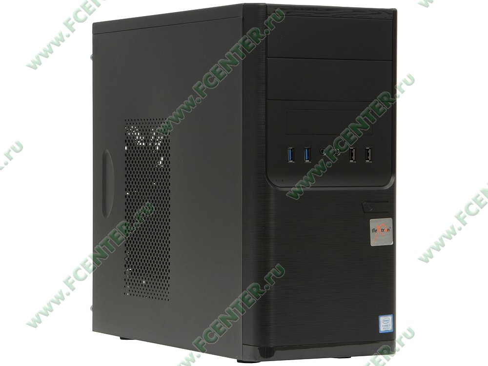 "Компьютер FLEXTRON ""Integro Pro""  (911791). Вид спереди."