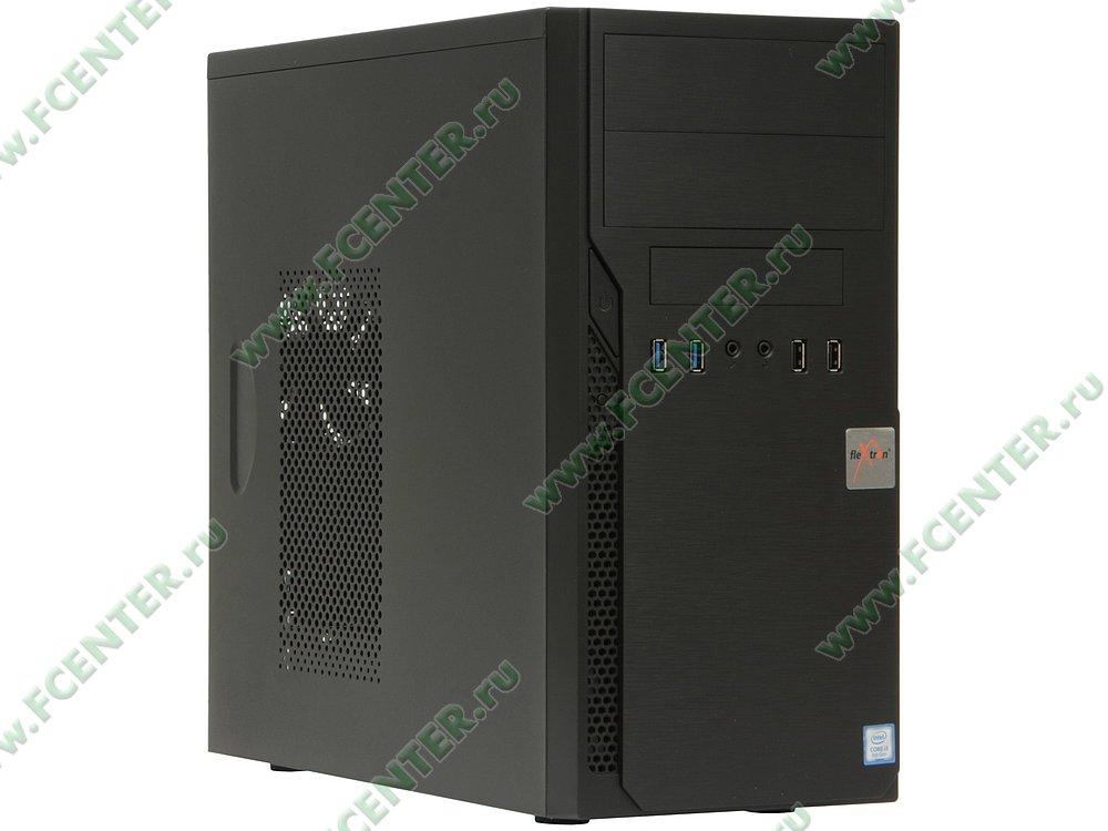 "Компьютер FLEXTRON ""Integro S""  (912201). Вид спереди."
