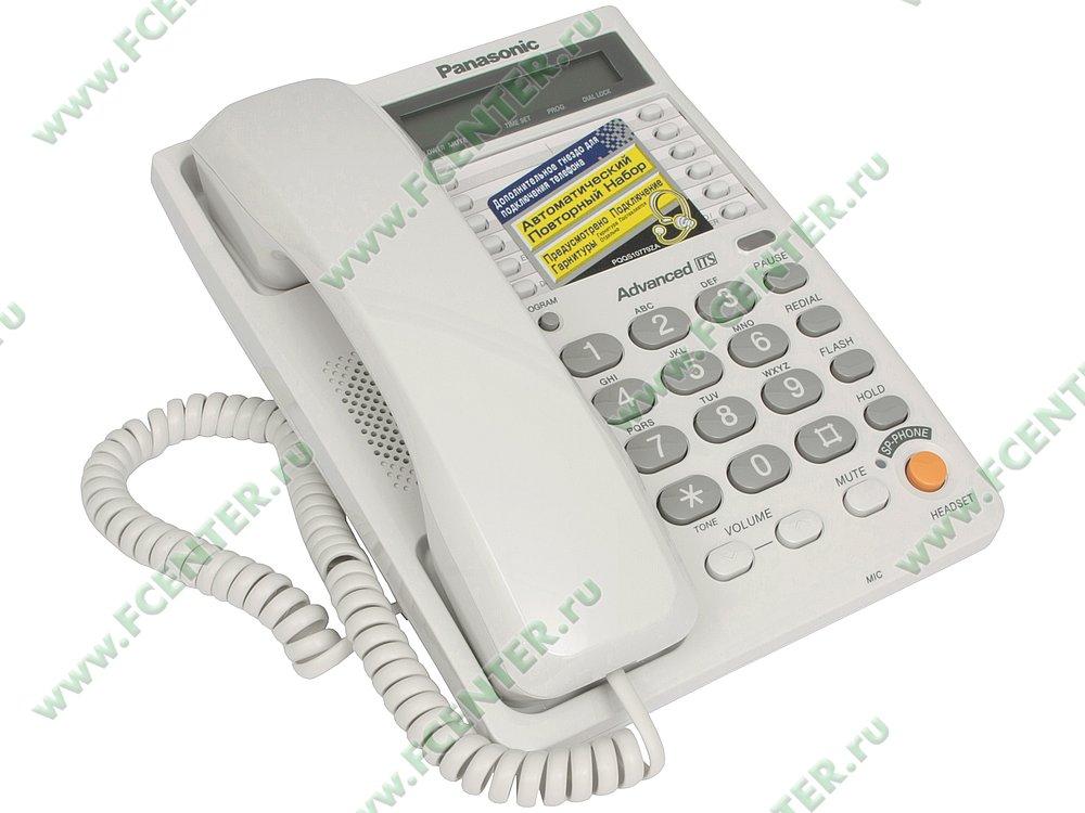 "Телефон Телефон Panasonic ""KX-TS2365"". Вид спереди."