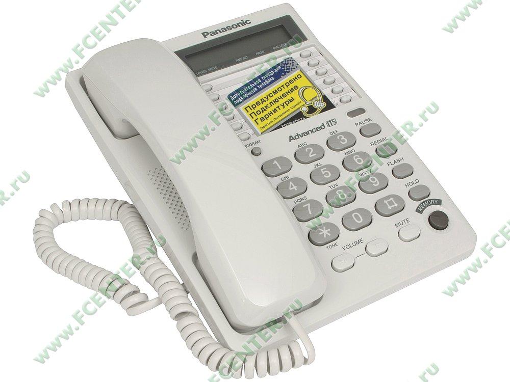 "Телефон Телефон Panasonic ""KX-TS2362"". Вид спереди."