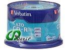 "Диск CD-R 700МБ 52x Verbatim ""43343"" (50шт./уп.)"