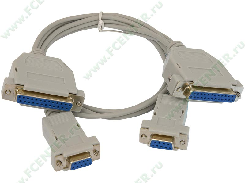 DB25S - 25-ти.  Схема распайки нуль-модемного кабеля очень проста.