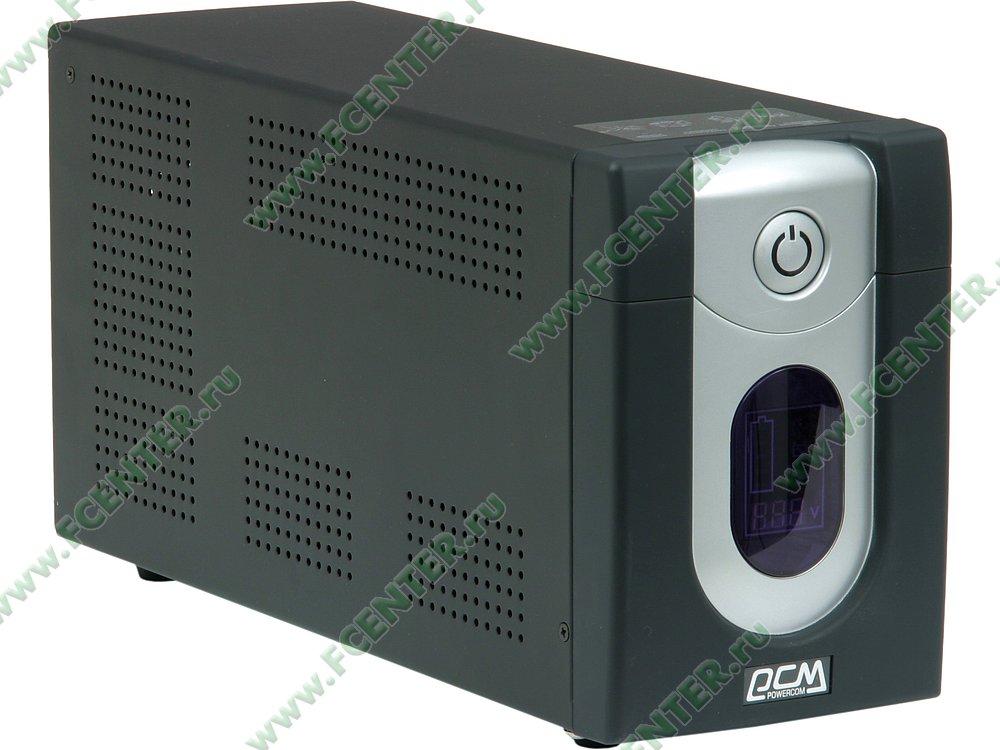 """Источник бесперебойного питания 2000ВА Powercom """"Imperial IMD-2000AP"""" (USB). Вид спереди."""