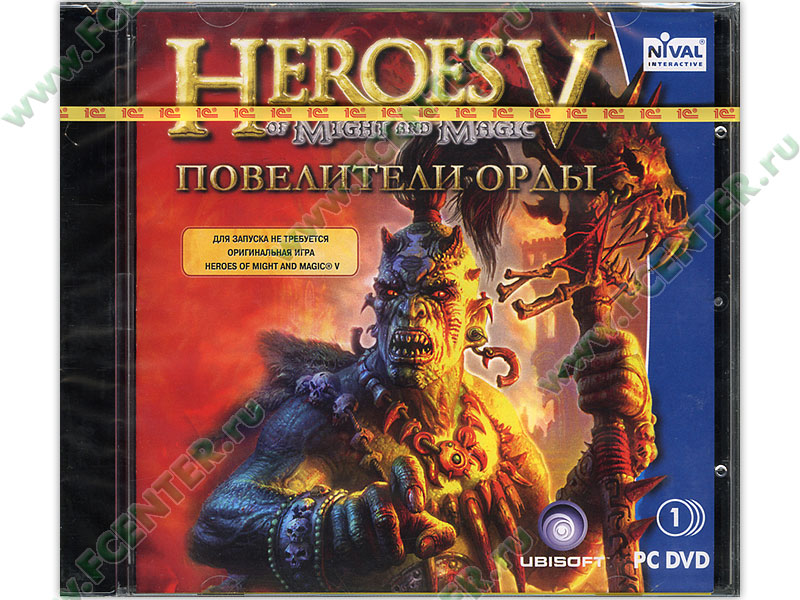 Патч для игры Heroes of Might and Magic 5: Tribes of the East.