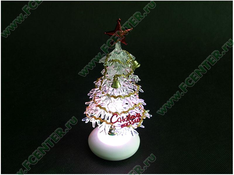 """Новогодняя елка ORIENT """"303N"""", светящаяся, с музыкой (USB). Свет."""