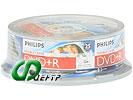 """Диск DVD+R DL 8.5ГБ 8x Philips """"DR8I8B25F"""" (25шт./уп.)"""