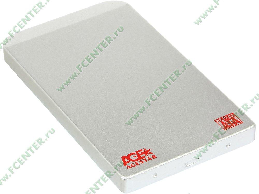 """Контейнер Agestar """"SUB2O1"""" (USB2.0). Вид спереди."""
