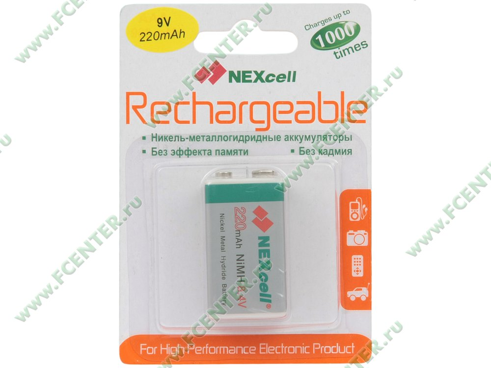 ��� NEXcell 220 ��� Ni-MH 9� (ret)