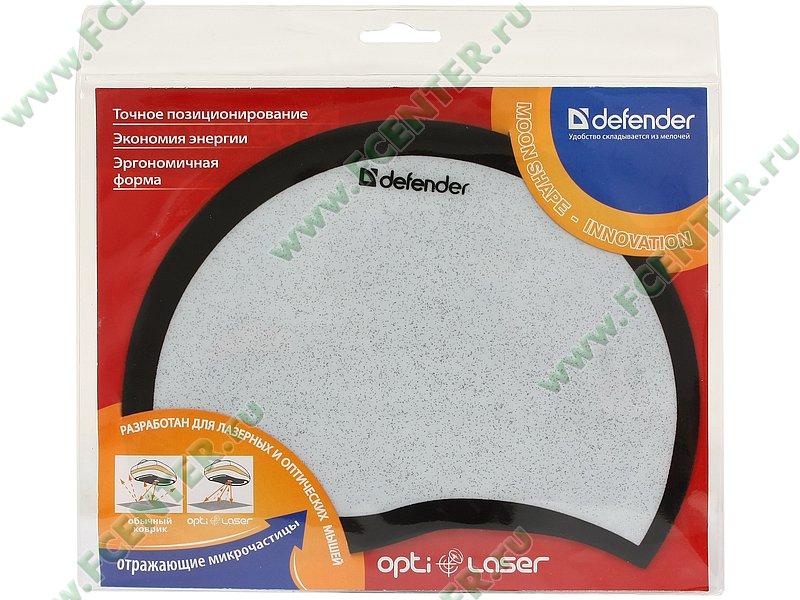 """Коврик Defender """"Opti Laser"""". Коробка."""