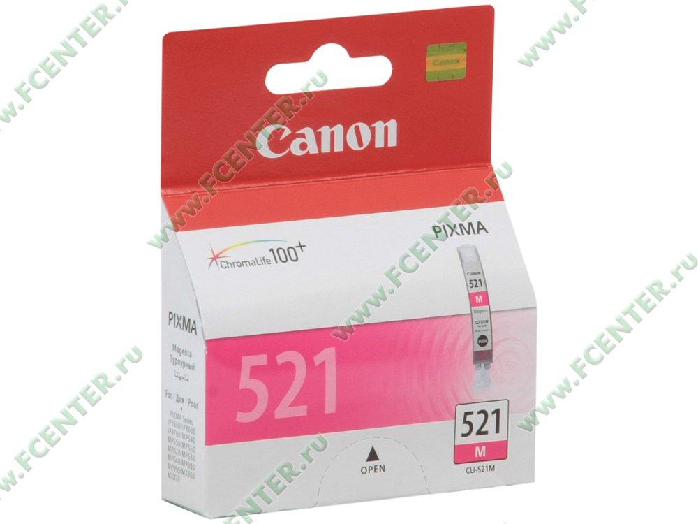 """Картридж Картридж Canon """"CLI-521M"""" . Коробка."""