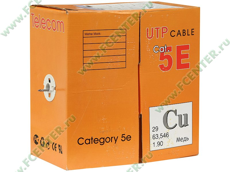 "������ UTP 5e ���. ""TelecomCU Light"" (305�)"