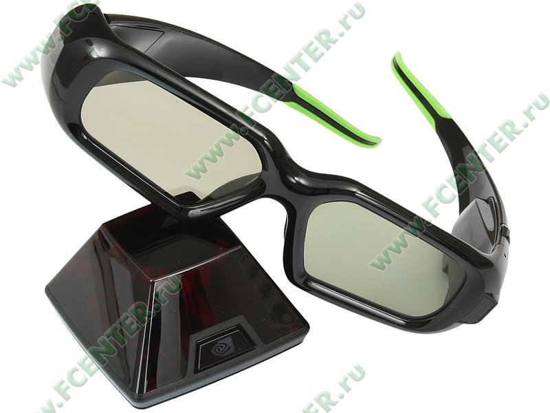 Очки nvidia geforce 3d vision usb2 0