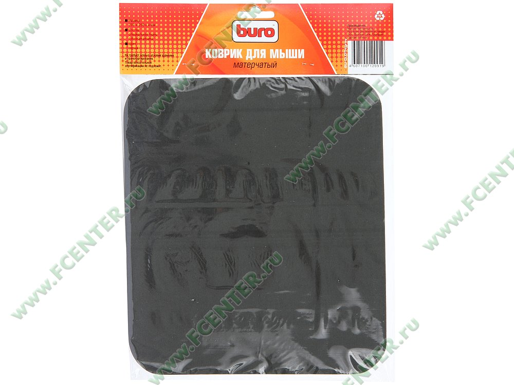 "Коврик Buro ""BU-Cloth"". Коробка."