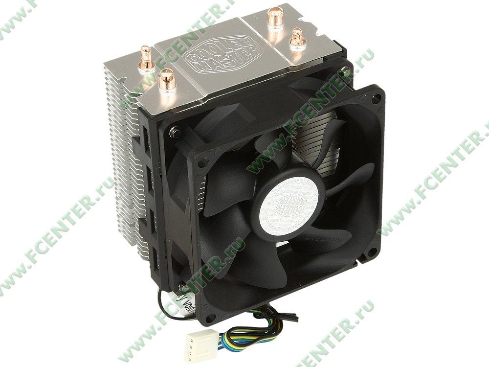 "Кулер для процессора Cooler Master ""Hyper 101 RR-H101-30PK-RU"". Вид спереди 1."