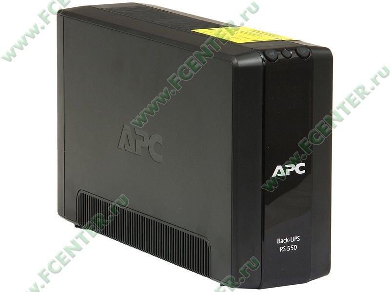 """Источник бесперебойного питания 550ВА APC """"Back-UPS Pro 550"""" (USB). Вид спереди."""