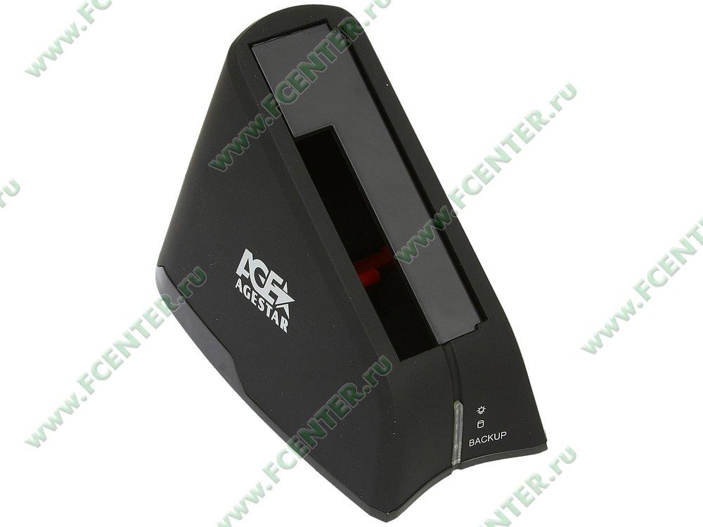 "Док-станция Agestar ""SUBT"" (USB2.0). Вид спереди."