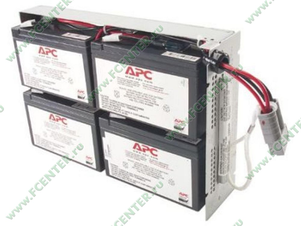 Батарея аккумуляторная APC Replacement Battery Cartridge #24. Фото производителя.