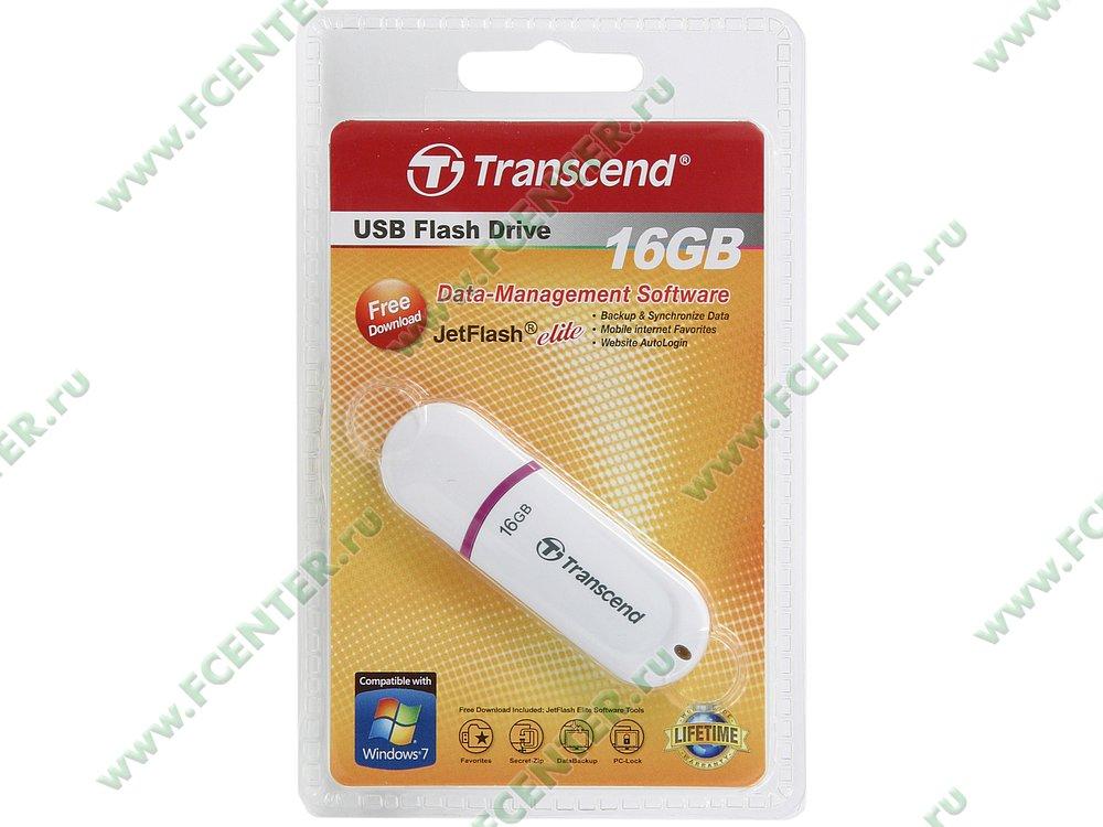 """Накопитель USB flash 16ГБ Transcend """"JetFlash 330"""" (USB2.0). Коробка."""