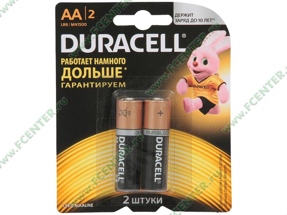 "Батарейка Duracell ""LR6/MN1500"". Коробка 1."