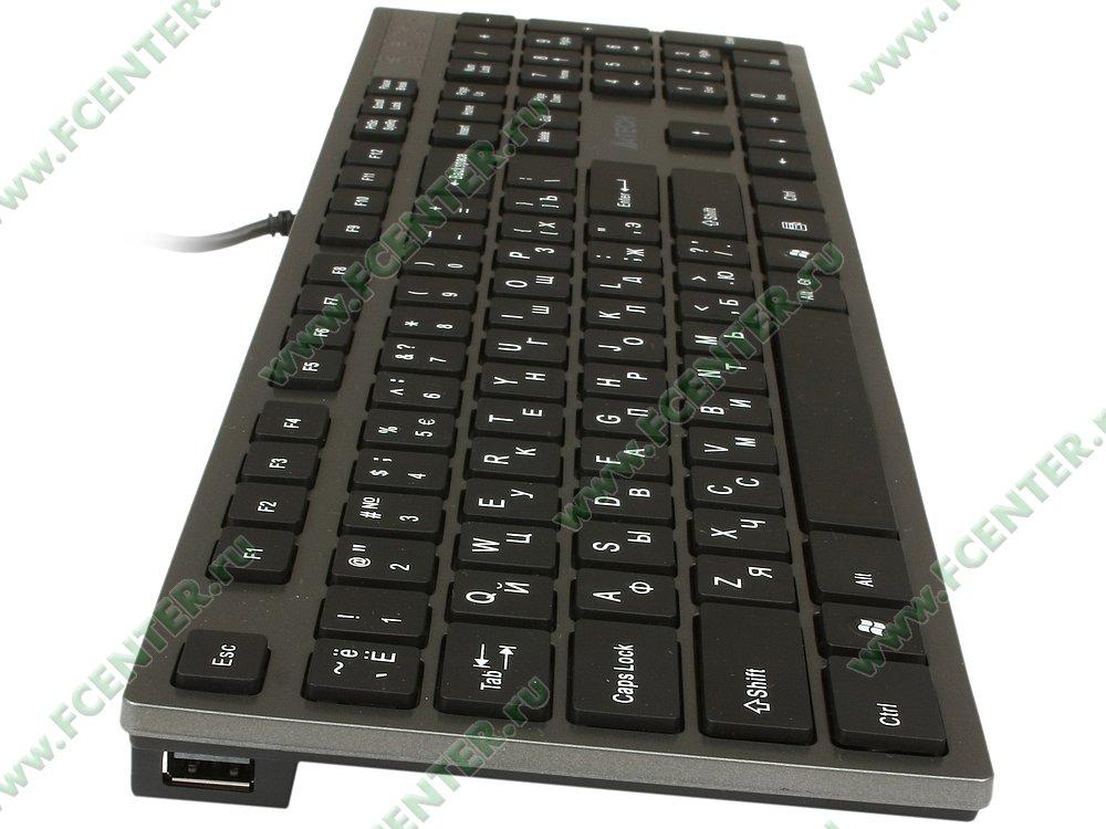 Tastatura A4Tech KVH Isolation grey - PC Garage