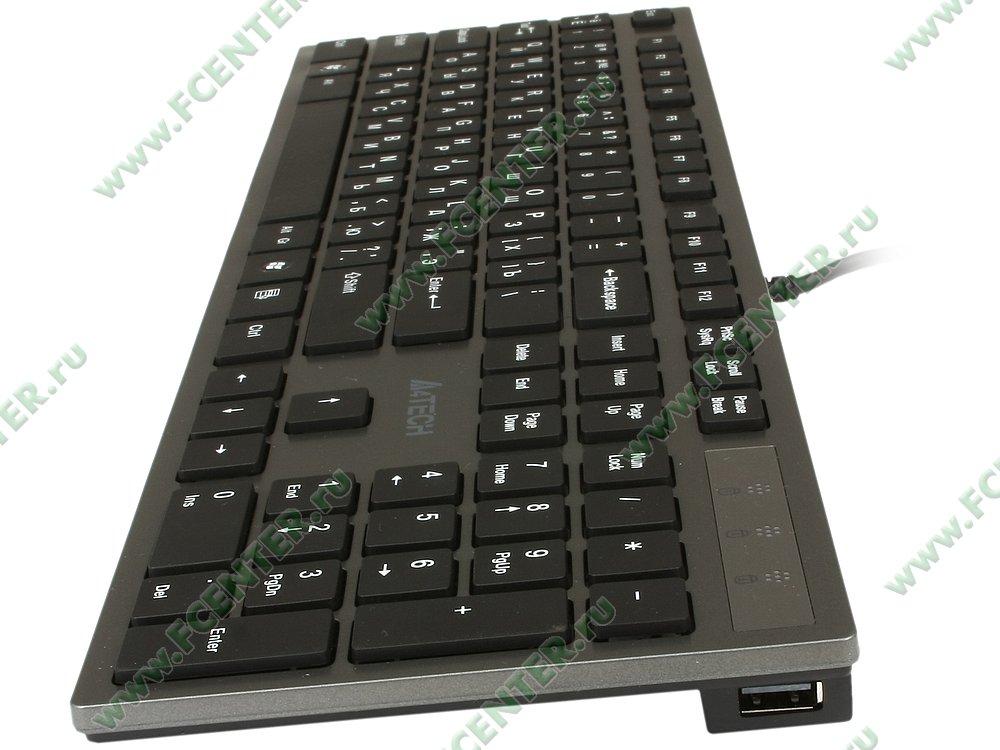 Tastatura A4Tech KV-300H Isolation grey