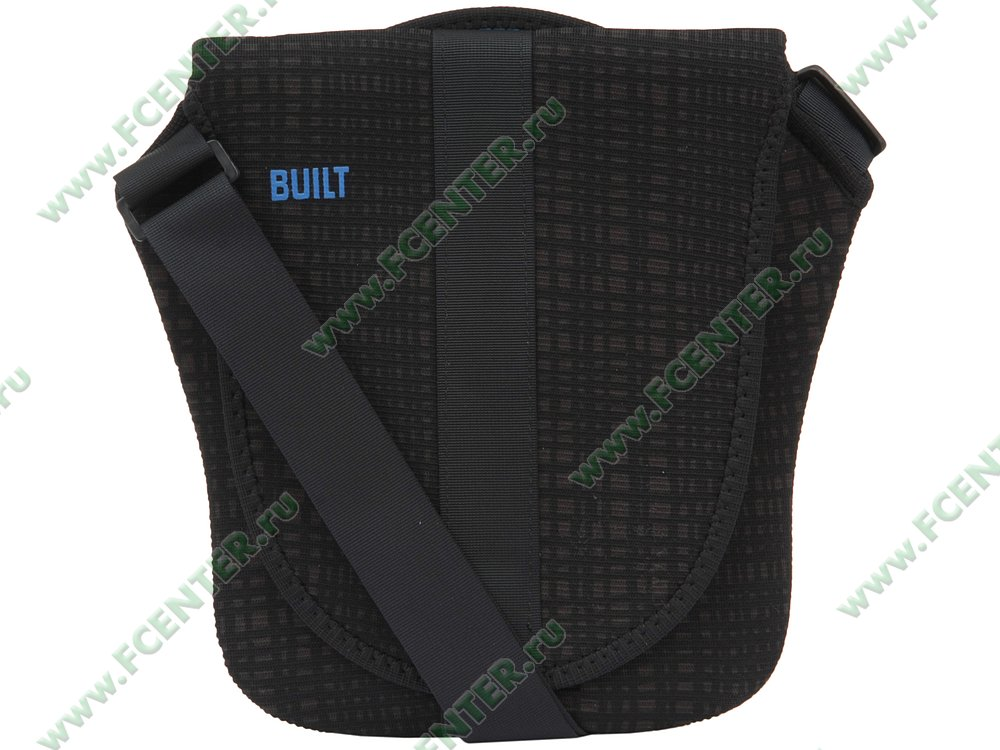 "Сумка BUILT ""Neoprene Messenger Bag A-D1MS"". Вид спереди 1."
