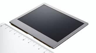 3.8-дюймовый серийный OLED-дисплей