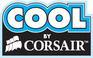 Логотип системы водяного охлаждения от Corsair