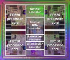 Четырехядерный ЦПУ от Fujitsu для бытовой электроники
