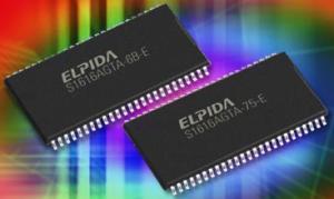 Новые 16-мегабитные чипы SDRAM от Elpida