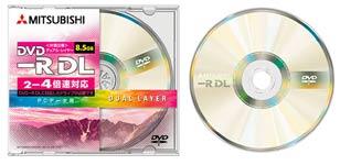Первый носитель формата DVD-R DL