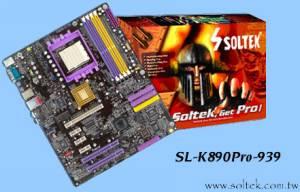 Soltek SL-K890Pro-939 на K8T890