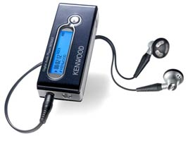 Простой, но самодостаточный MP3-плеер от Kenwood. Первый.